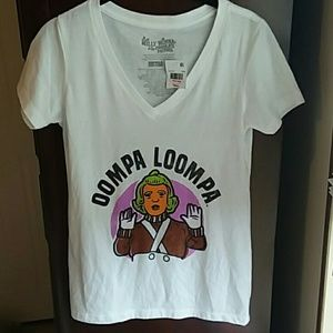 NWT Willie Wonka tee shirt